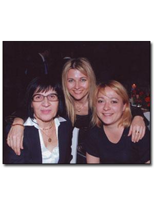 avec Marianna et Kalina, Héracleion Crète, avril 2010