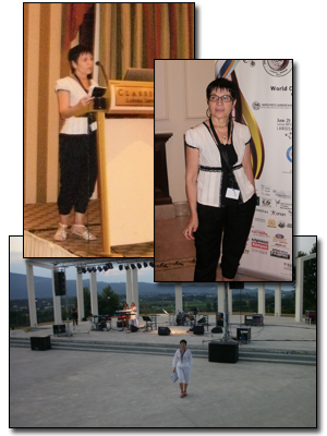 22nd World Congress of Poets, Larissa (Greece), June 29 - July 3, 2011